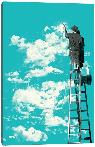 Optimist Canvas Art Print