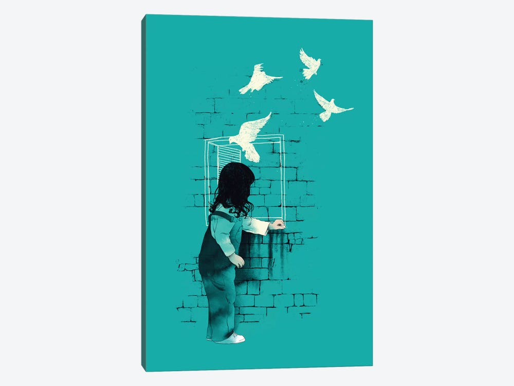 A Way Out by Mathiole 1-piece Canvas Wall Art