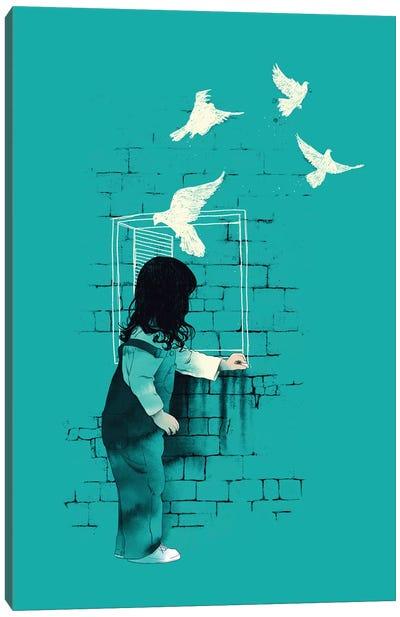 A Way Out Canvas Art Print