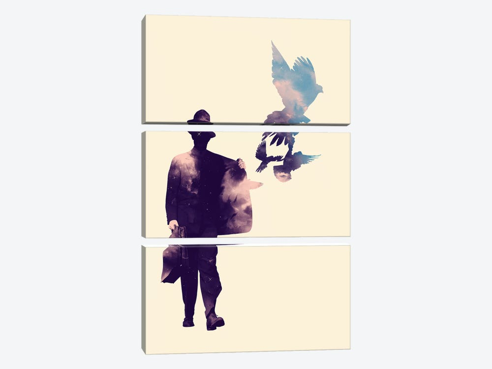 Peacemaker by Mathiole 3-piece Canvas Artwork