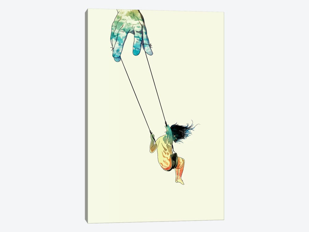 Swing Me Higher by Mathiole 1-piece Canvas Artwork