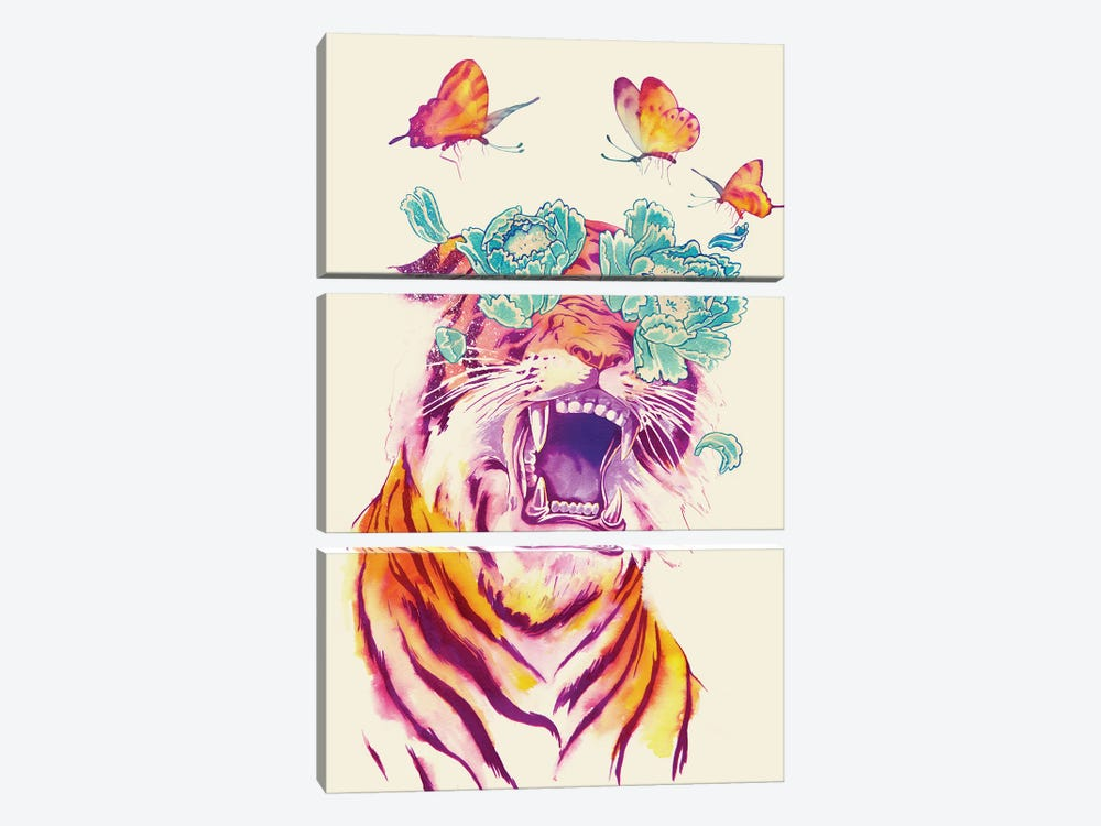 Tropicalia by Mathiole 3-piece Art Print