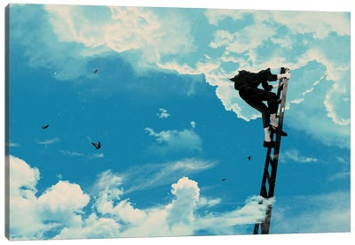 Up There Canvas Art Print