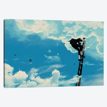Up There Canvas Print #MLO25} by Mathiole Canvas Art