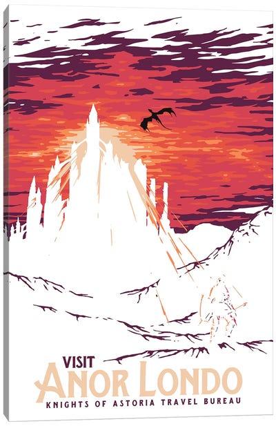 Visit Anor Londo Canvas Art Print