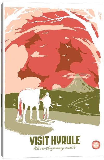 Visit Hyrule Canvas Art Print