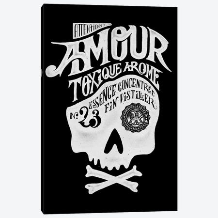 Amour Canvas Print #MLO37} by Mathiole Art Print