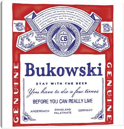 Bukowski Canvas Art Print