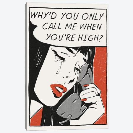 Call Me Canvas Print #MLO45} by Mathiole Canvas Artwork