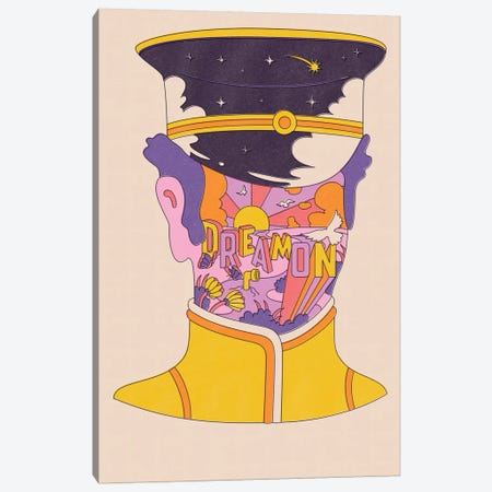 Dream On Canvas Print #MLO55} by Mathiole Canvas Print