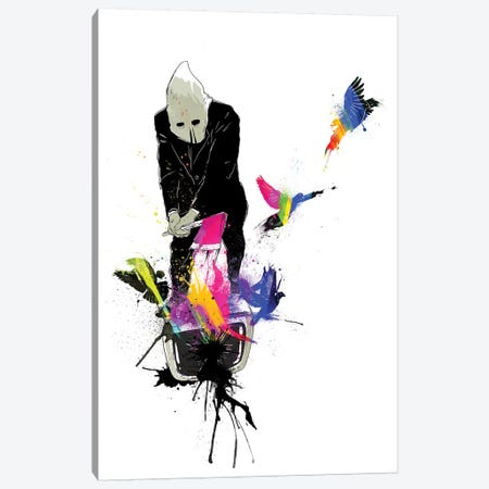 Executioner Canvas Print #MLO58} by Mathiole Canvas Wall Art