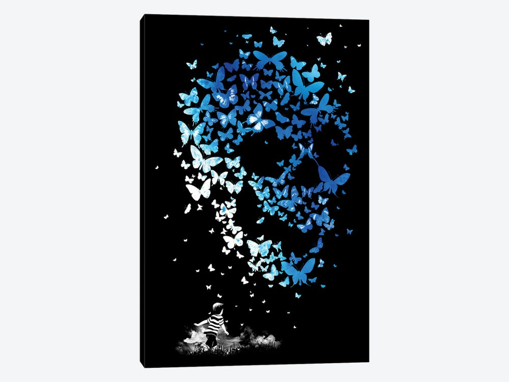 Chaos Theory by Mathiole 1-piece Canvas Artwork