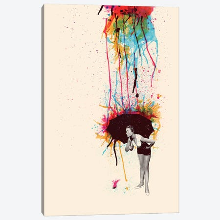 Colorblind Canvas Print #MLO6} by Mathiole Canvas Artwork
