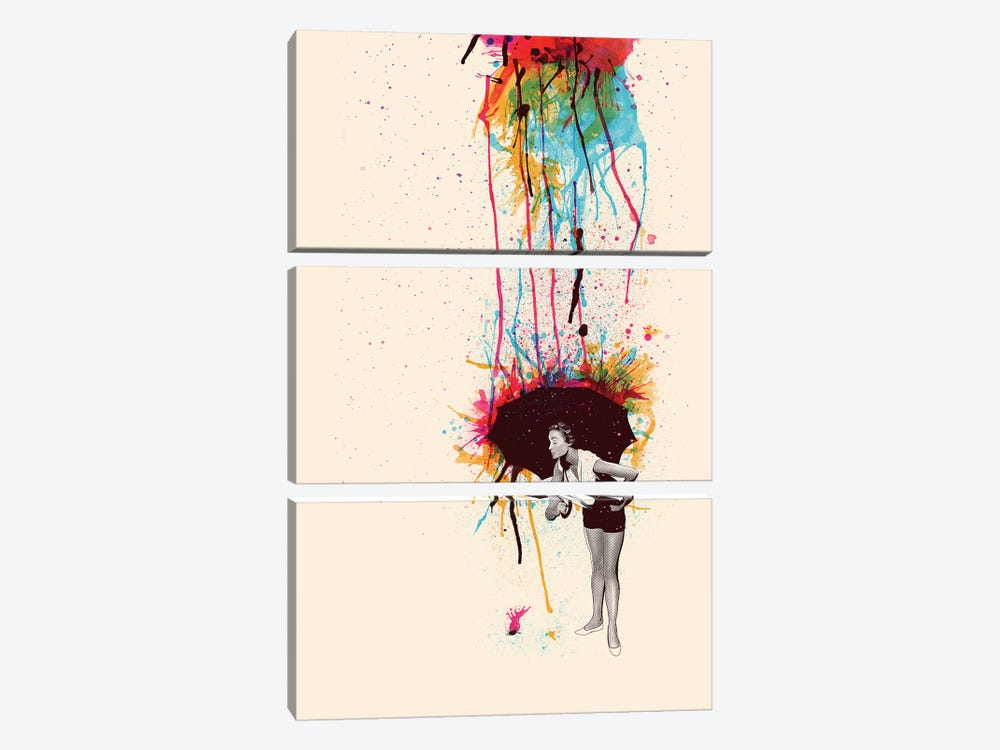 Colorblind by Mathiole 3-piece Art Print