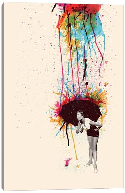 Colorblind Canvas Art Print