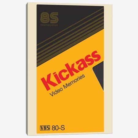 Kickass Tape Canvas Print #MLO74} by Mathiole Canvas Print