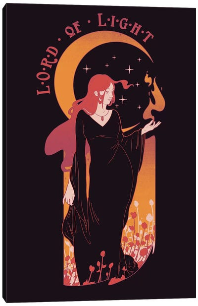 Lord Of Light Canvas Art Print