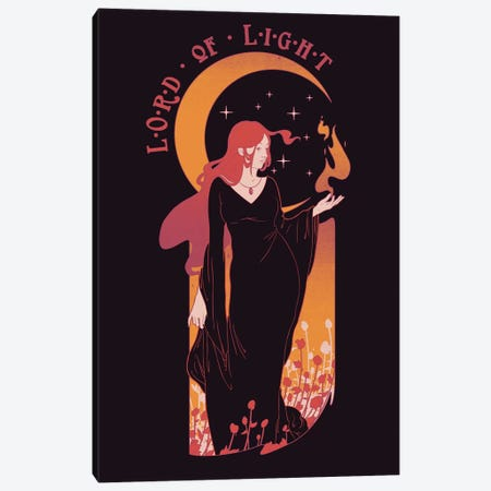 Lord Of Light Canvas Print #MLO77} by Mathiole Canvas Art Print