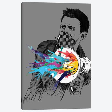 Megablast Canvas Print #MLO79} by Mathiole Canvas Wall Art