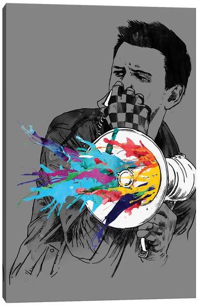 Megablast Canvas Art Print