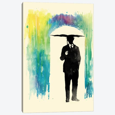 Colorphobia Canvas Print #MLO7} by Mathiole Canvas Artwork