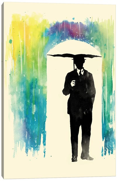 Colorphobia Canvas Art Print