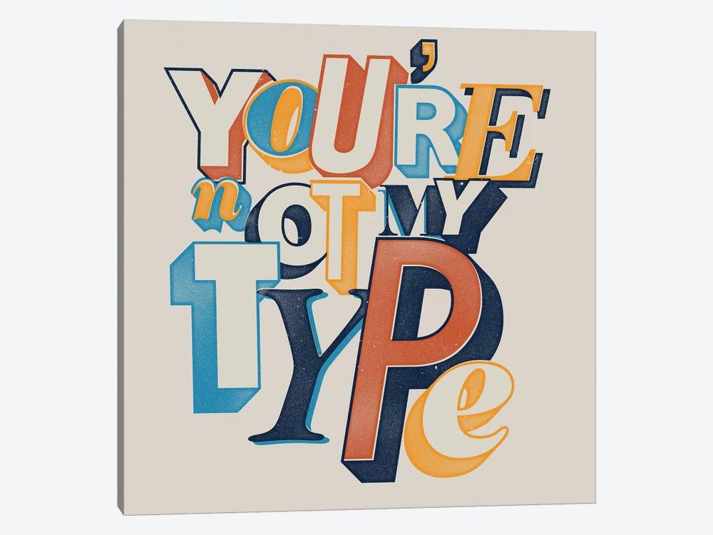 My Type by Mathiole 1-piece Art Print
