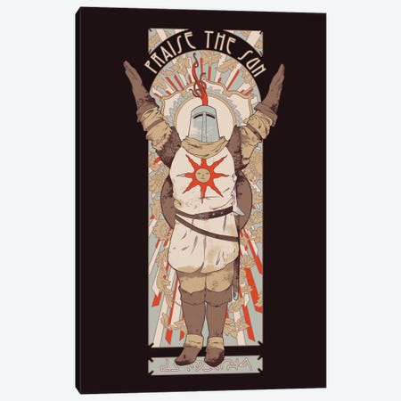 Praise The Sun Canvas Print #MLO95} by Mathiole Canvas Art Print