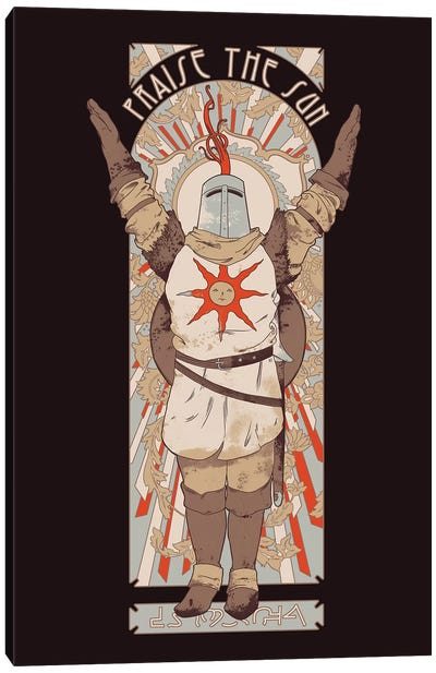 Praise The Sun Canvas Art Print