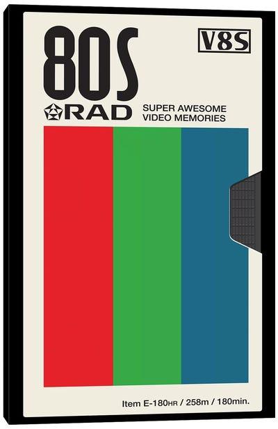 Rad Memories Canvas Art Print