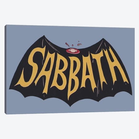 Sabbath Canvas Print #MLO99} by Mathiole Canvas Art