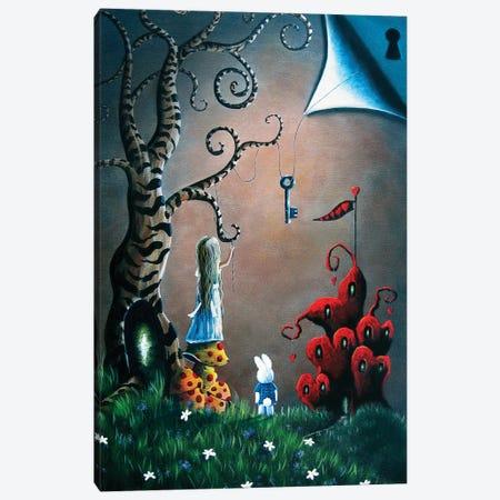 Key To Wonderland Canvas Print #MLP103} by Moonlight Art Parlour Canvas Art
