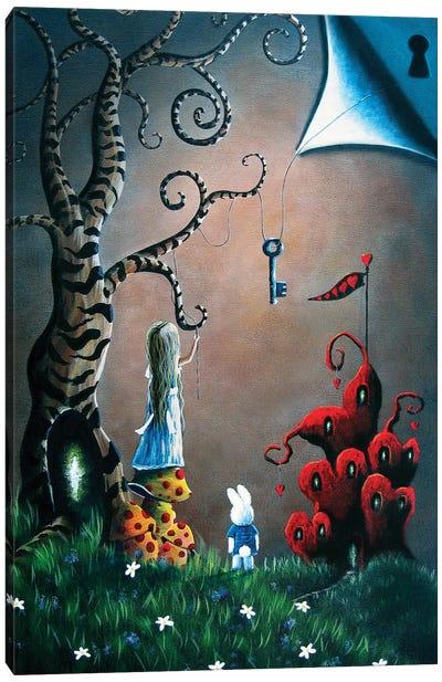 Key To Wonderland Canvas Art Print