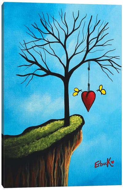 New Beginnings Start With Love Canvas Art Print