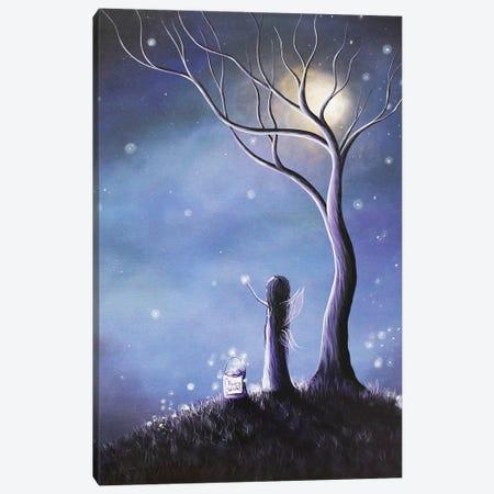 Night Of The Fairies Canvas Print #MLP121} by Moonlight Art Parlour Canvas Art