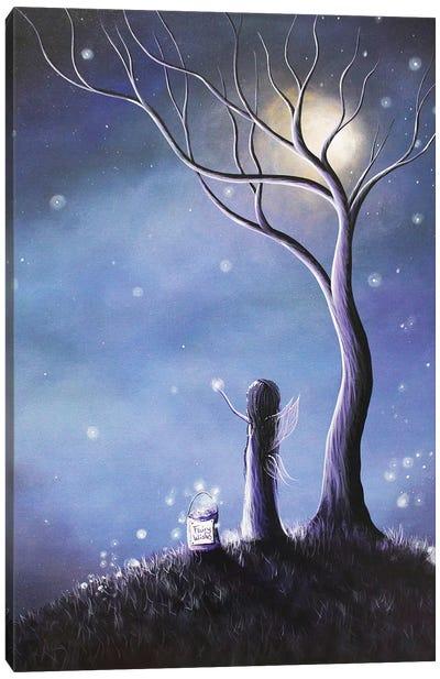 Night Of The Fairies Canvas Art Print