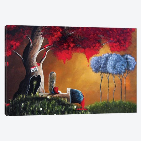 Our Place Canvas Print #MLP136} by Moonlight Art Parlour Canvas Wall Art