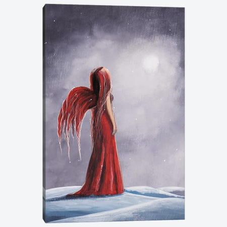 Queen Of The Winter Nights Canvas Print #MLP143} by Moonlight Art Parlour Canvas Wall Art