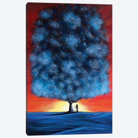Serengeti Fairy Canvas Print #MLP152} by Moonlight Art Parlour Art Print