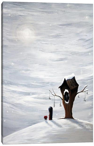 Six Wishes Left Canvas Art Print