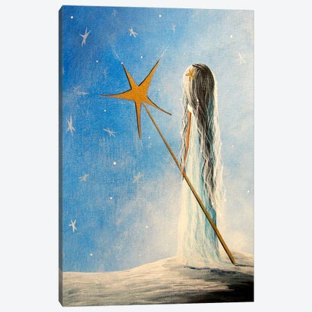 Snow Queen Canvas Print #MLP164} by Moonlight Art Parlour Art Print