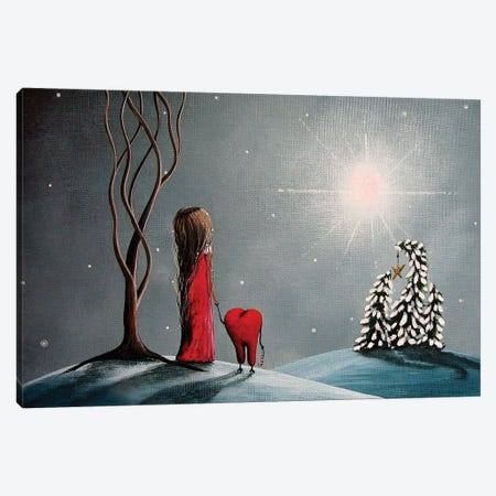 Star Of Hope Canvas Print #MLP168} by Moonlight Art Parlour Canvas Wall Art