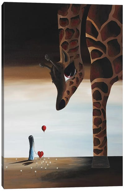 Stop To Love Canvas Art Print