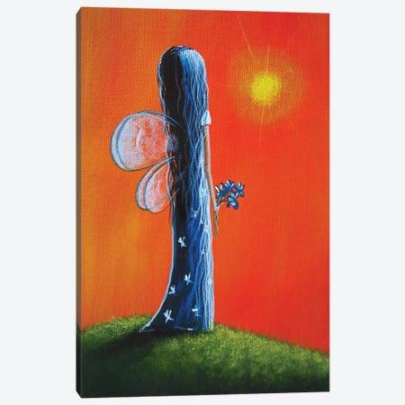 Summer Fairy Canvas Print #MLP172} by Moonlight Art Parlour Canvas Art Print