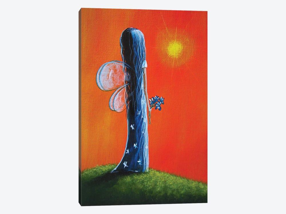 Summer Fairy by Moonlight Art Parlour 1-piece Canvas Wall Art