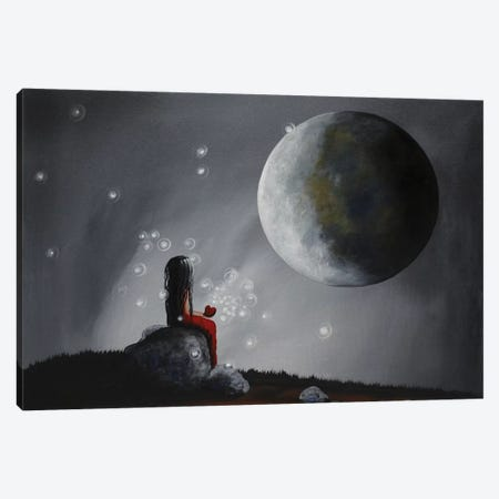 A Time To Dream Canvas Print #MLP17} by Moonlight Art Parlour Canvas Art