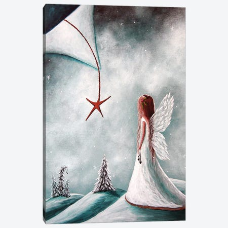 The Christmas Star Canvas Print #MLP181} by Moonlight Art Parlour Canvas Artwork