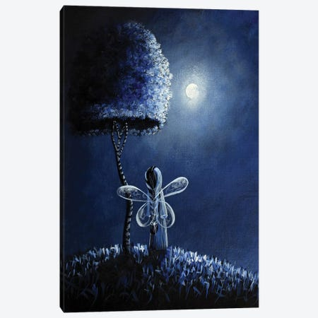 Topaz Fairy Canvas Print #MLP197} by Moonlight Art Parlour Canvas Artwork