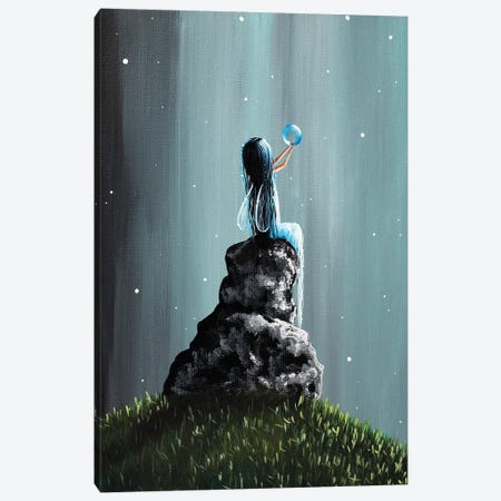 Twinkle Twinkle Little Dream Canvas Print #MLP202} by Moonlight Art Parlour Art Print