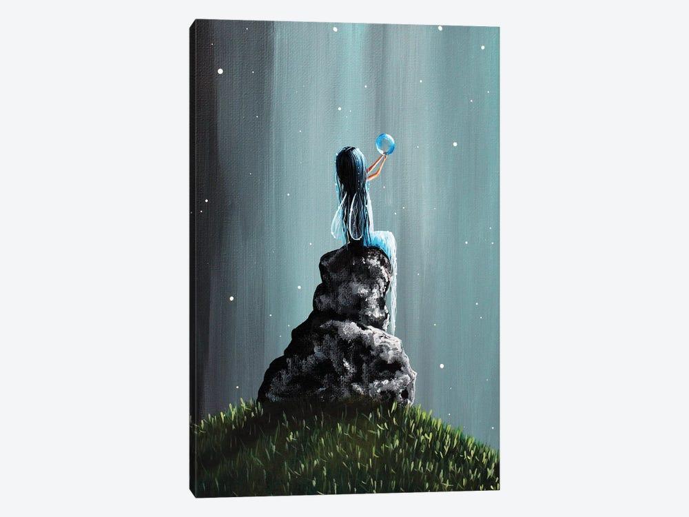 Twinkle Twinkle Little Dream by Moonlight Art Parlour 1-piece Canvas Art Print